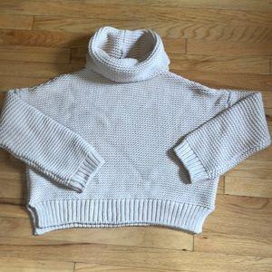 Zara Boxy Turtleneck Sweater